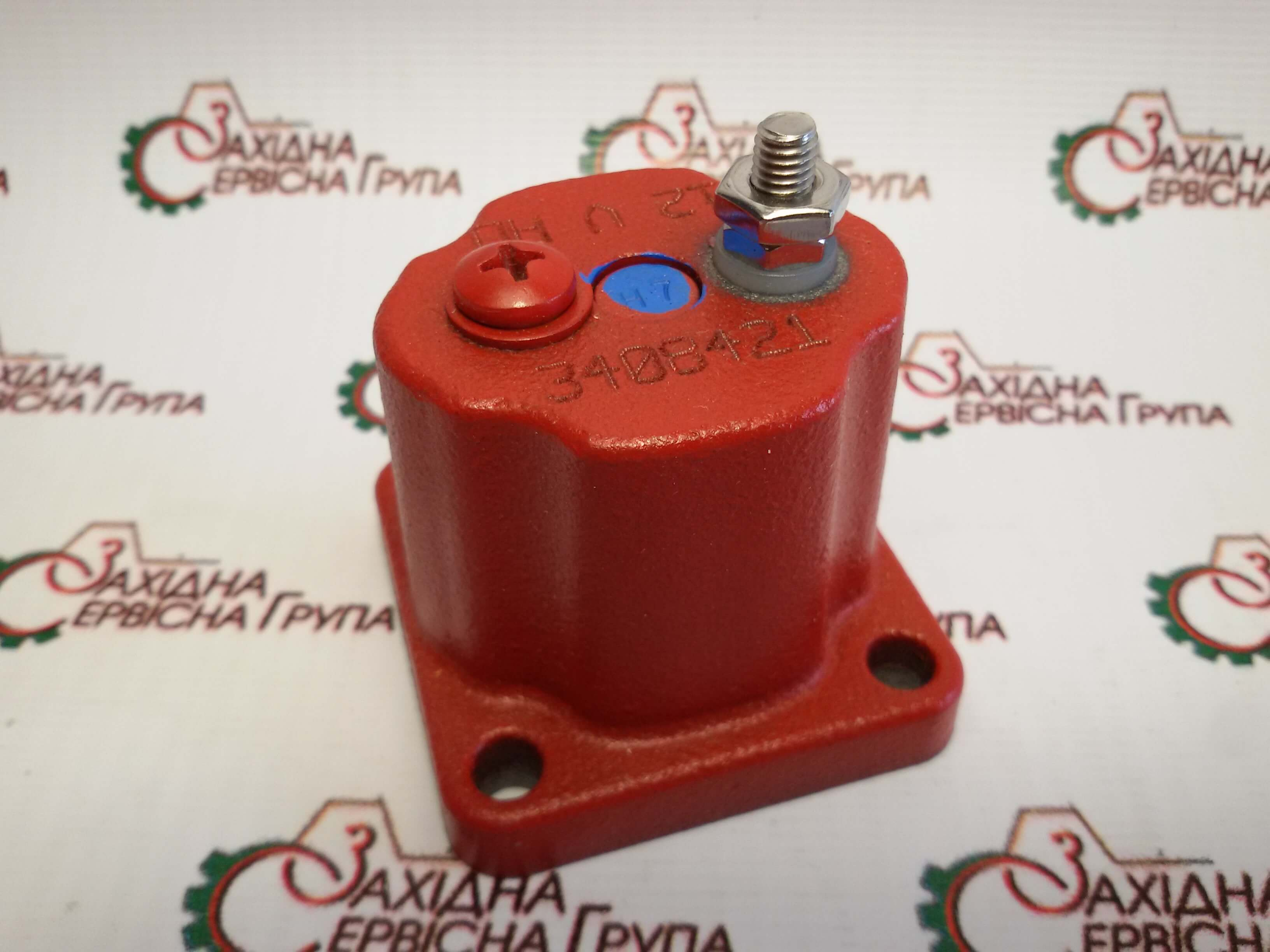 Соленоид клапан отсечки топлива 12V Cummins ISX15, QSX15, 4024808, 3408421, 3054608, 209940.