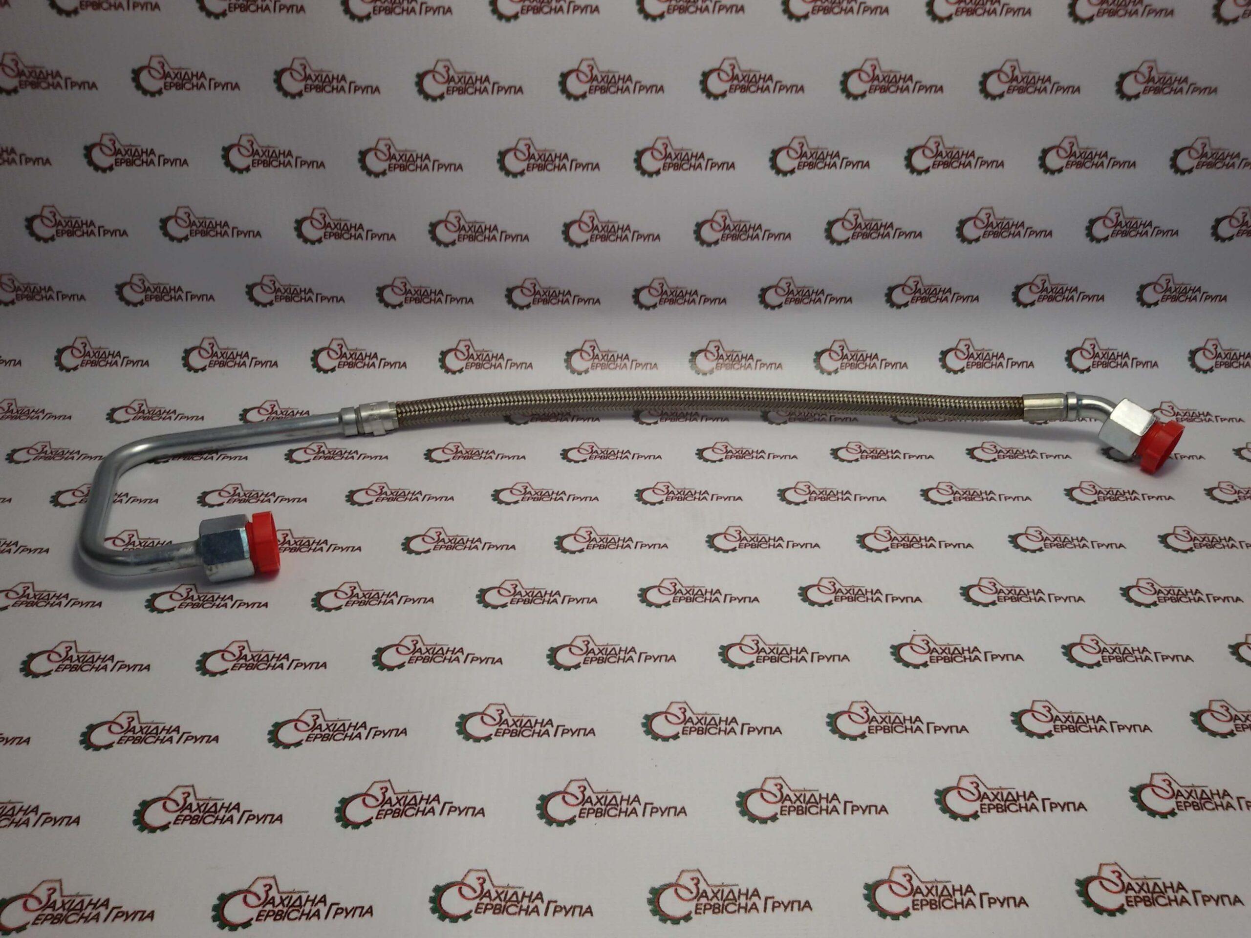 Трубка подачі масла до турбокомпресора Cummins ISX15, QSX15, 4318643, 3104286.