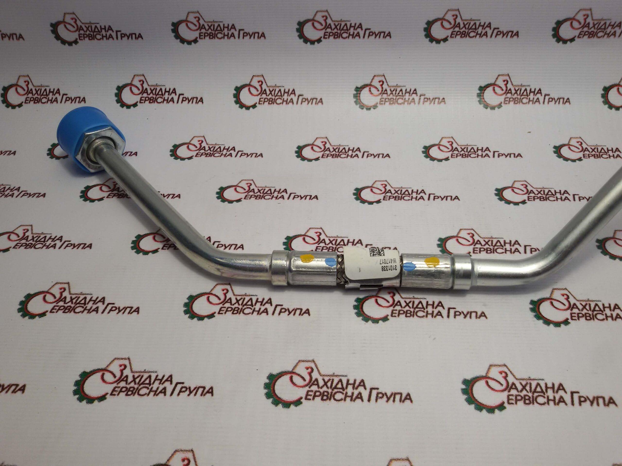 Трубка подачі змазки турбокомпресора Cummins ISX15, QSX15, 3101338.