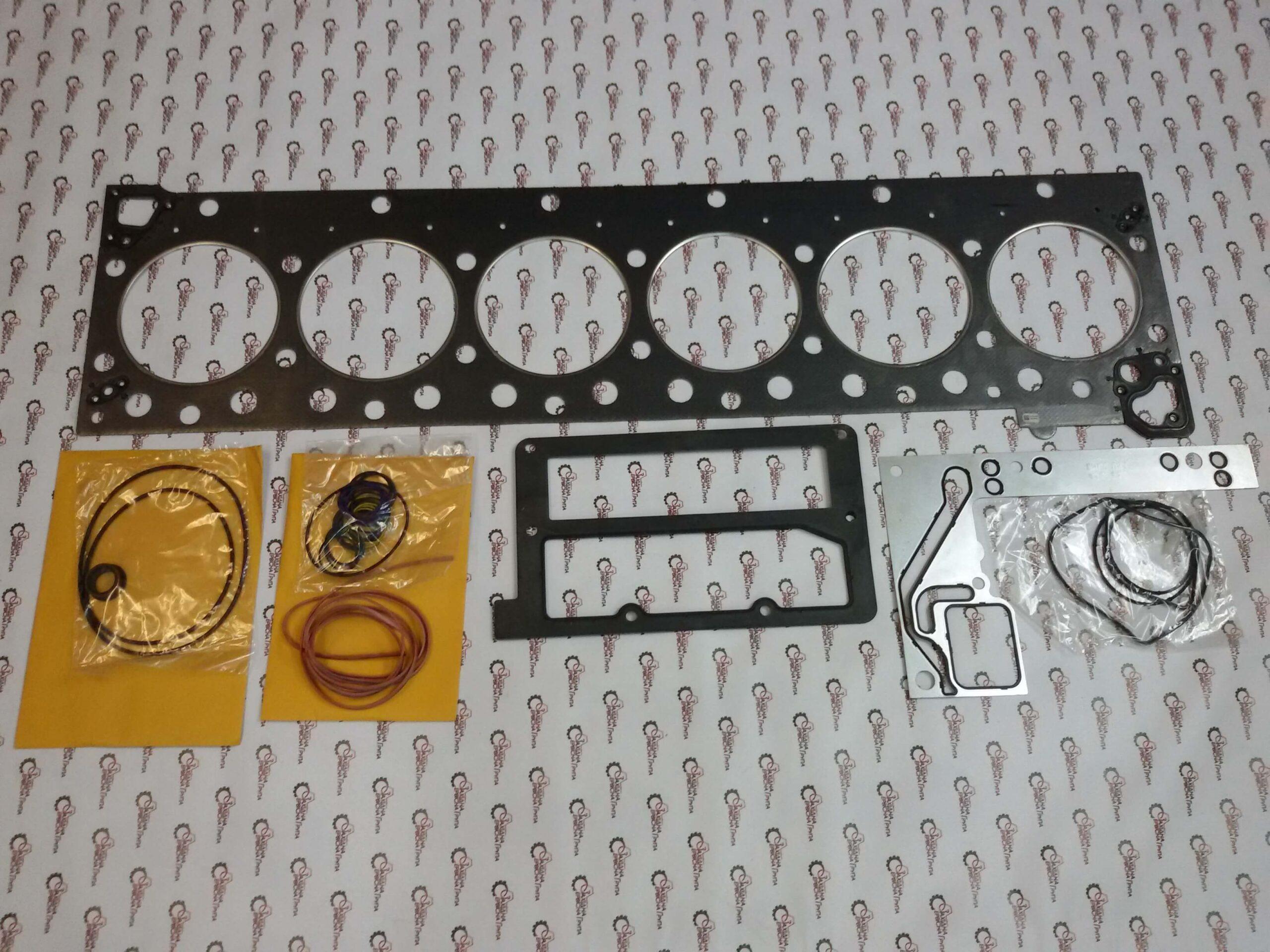 Комплект прокладок верхней части двигателя Cummins ISX15, QSX15, 4352144, 4955595, 4025300.