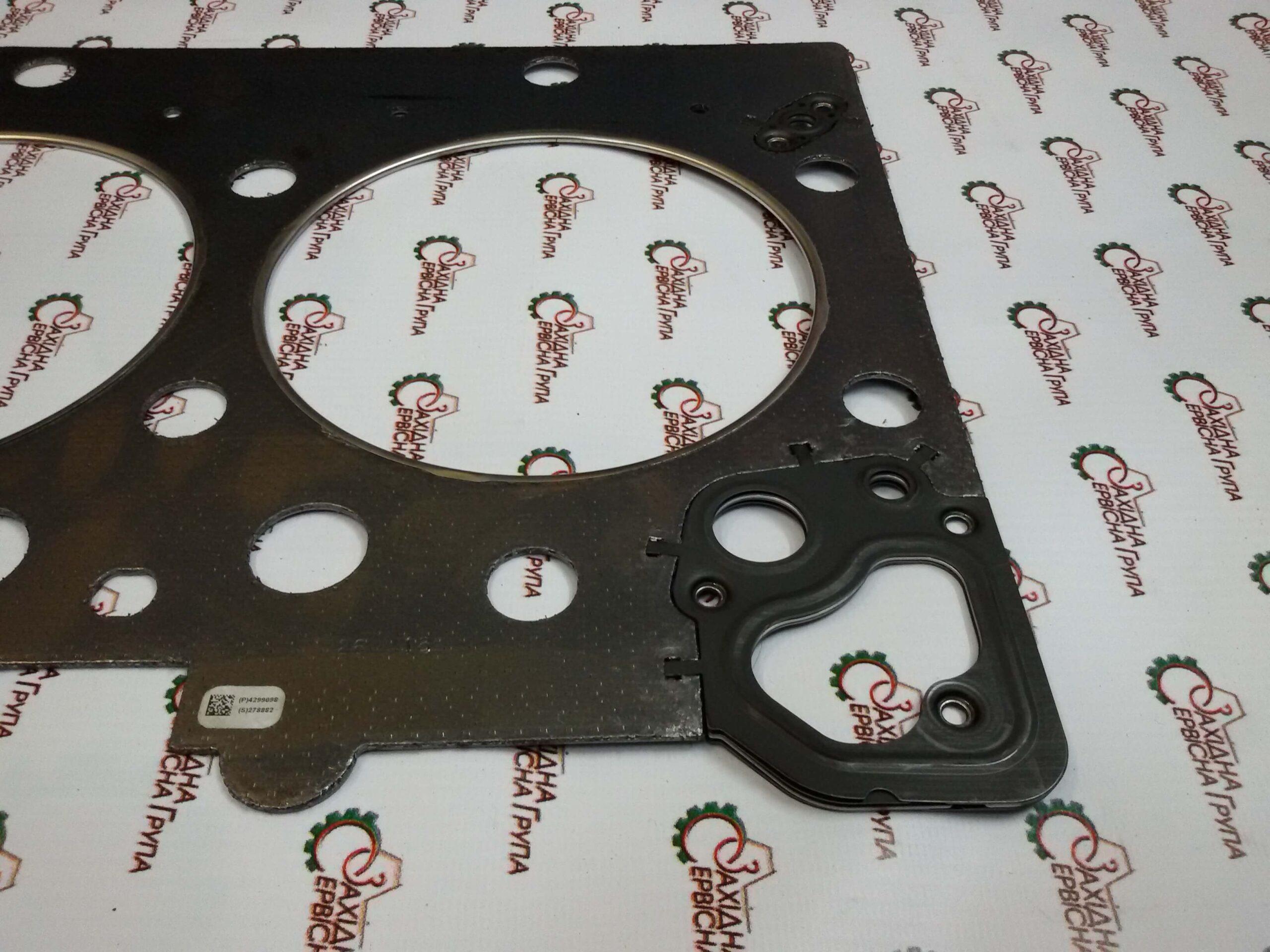 Прокладка головки блока цилиндров двигателя Cummins ISX15, QSX15, 4299098, 4926316, 3685834, 4059350.