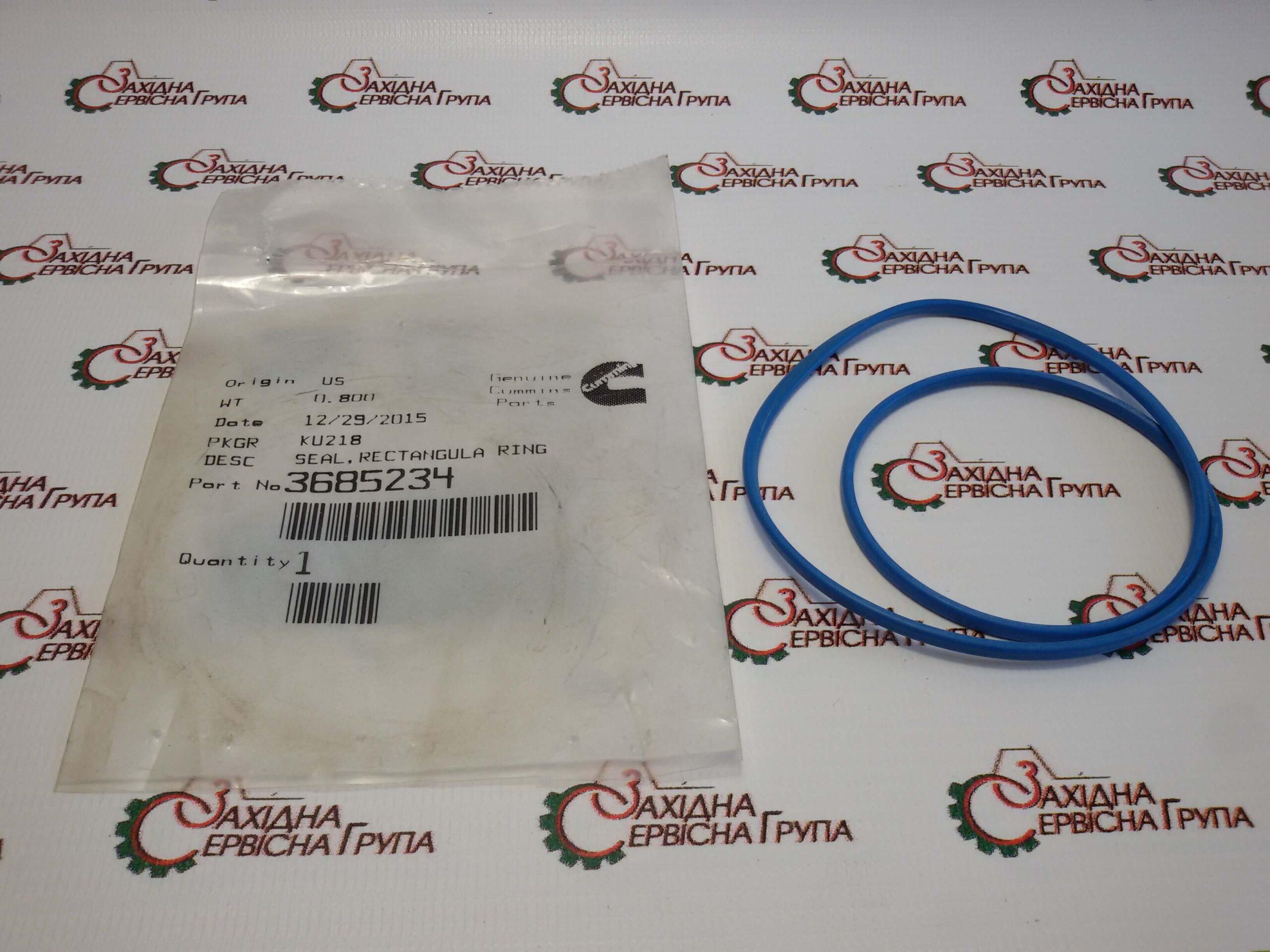 Уплотнительное кольцо гильзы Cummins ISX15, QSX15, 3685234.