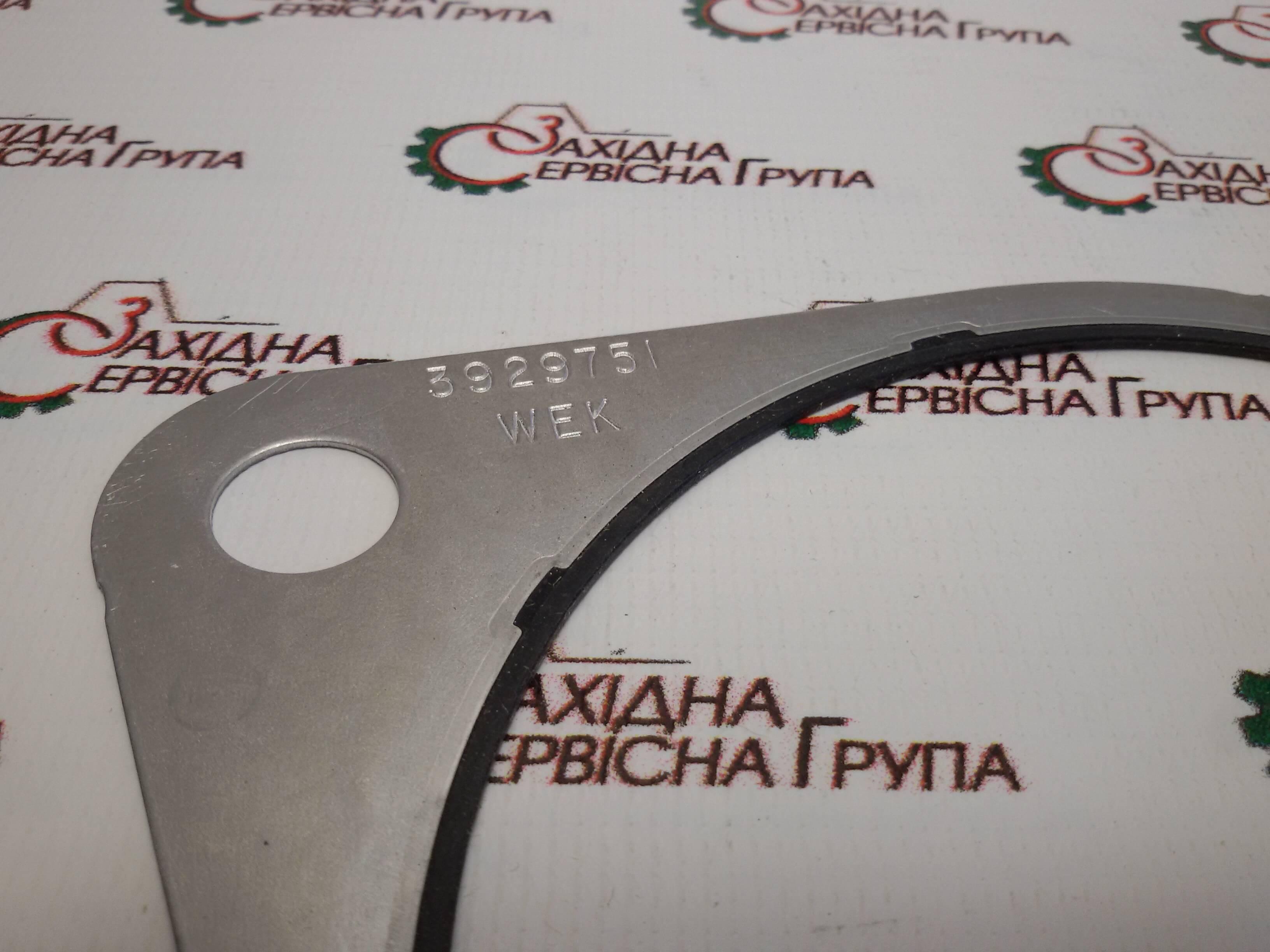 Прокладка кришки приводу допоміжних агрегатів Cummins ISX15, QSX15, 3929751.