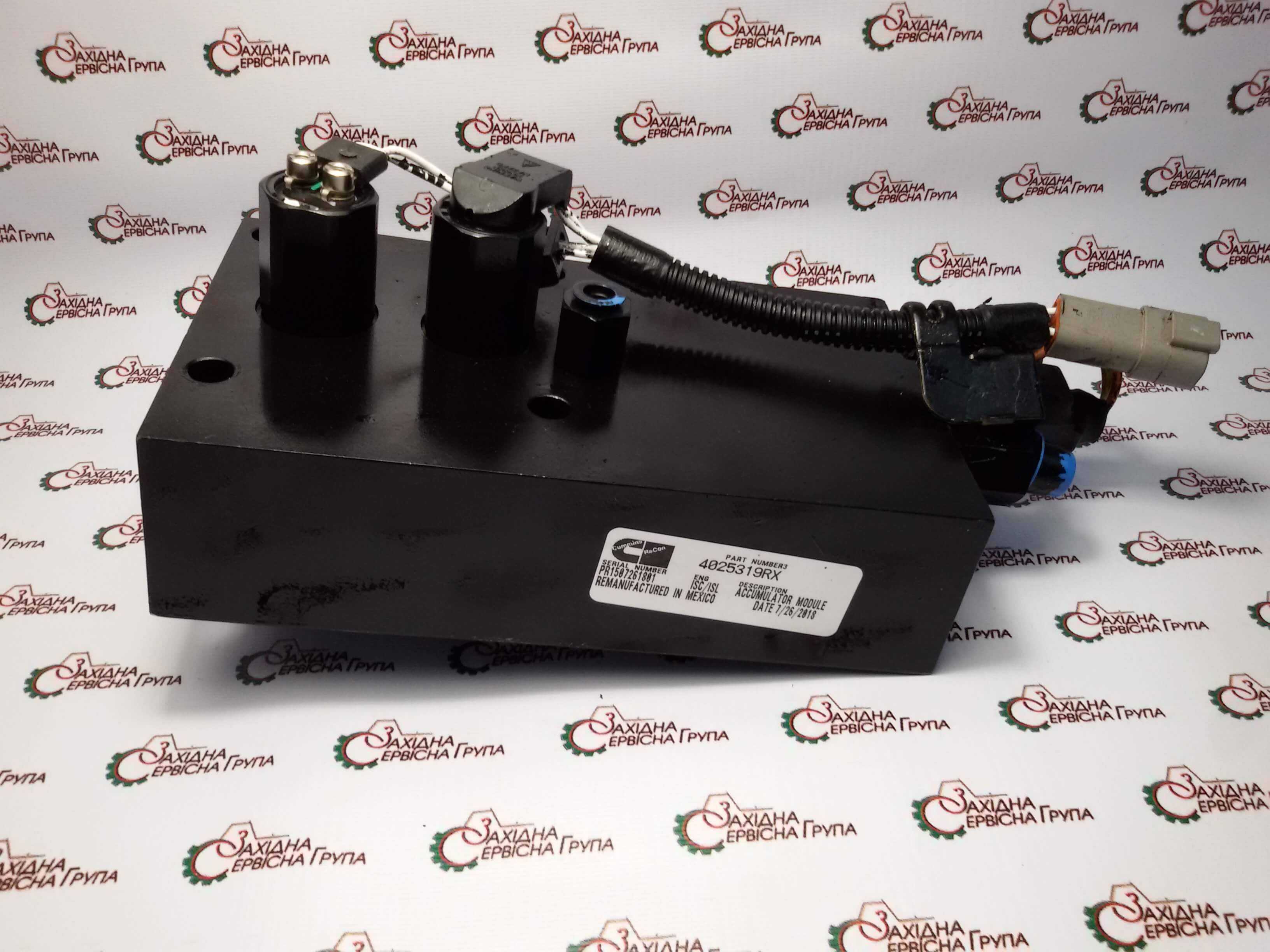 Акумулятор тиску паливного насоса Cummins QSC 8.3, (CAPS) 4025319, 4076661, 4010266, 4076870.