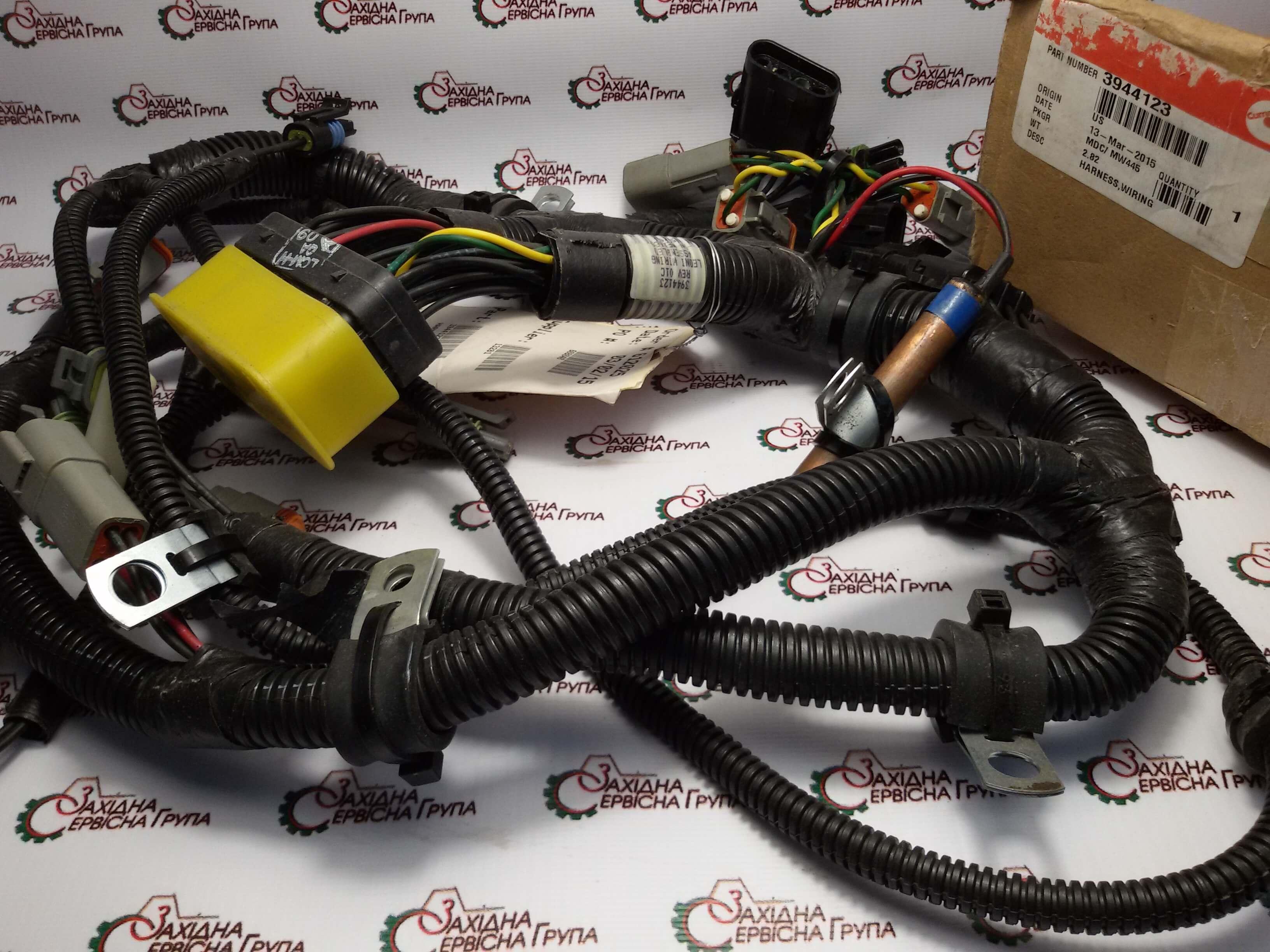 Джгут проводів електронного модуля управління Cummins QSC 8.3, (CAPS) 3944123.