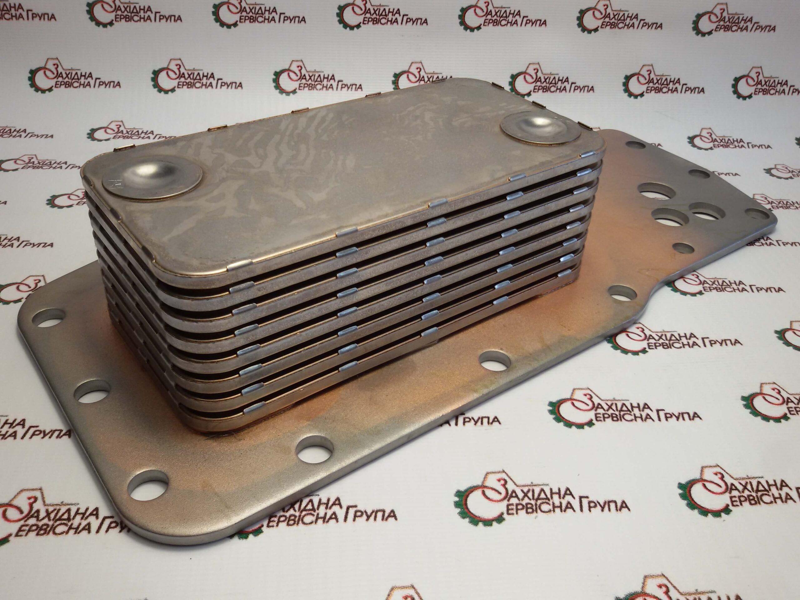 Теплообменник (маслоохладитель) Cooler Core Cummins ISB, QSB, 3975818.