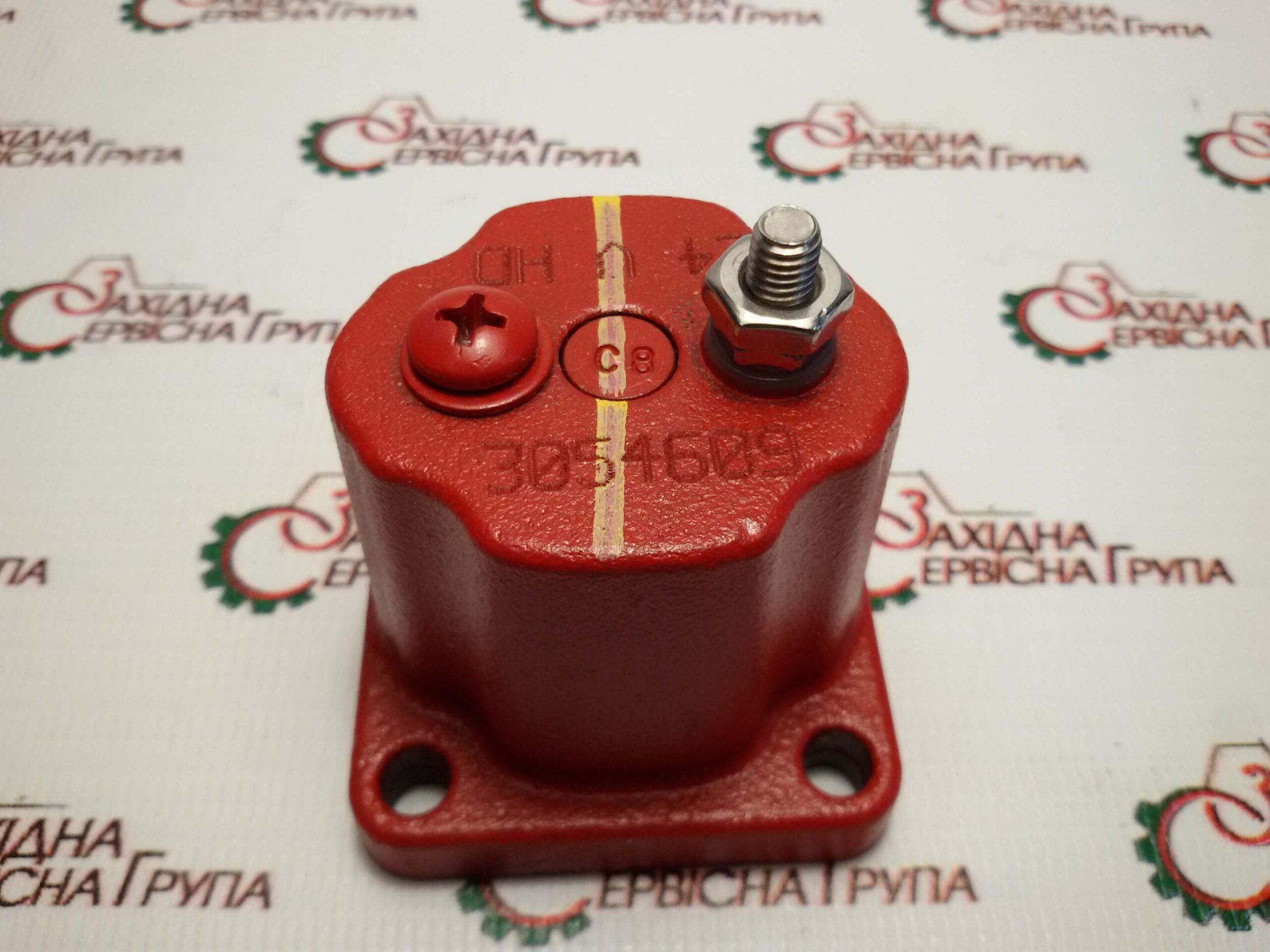Клапан електромагнітний (соленоїд) 24V Cummins KTA19, M11, 4024809, 3054609, 196066, 4903250.