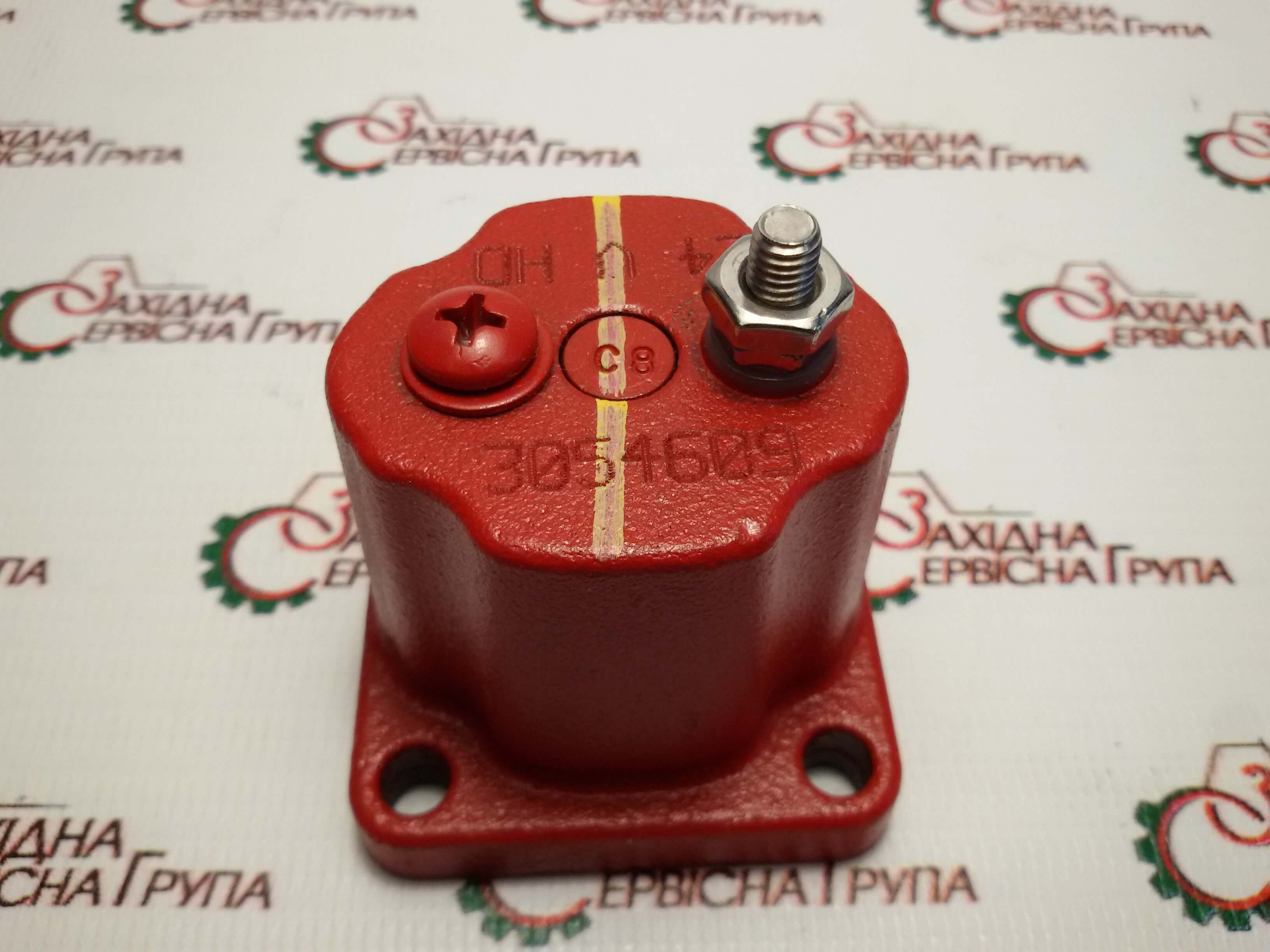 Клапан електромагнітний (соленоїд) 24V Cummins KTA19, M11, 4024809, 3054609, 196066.