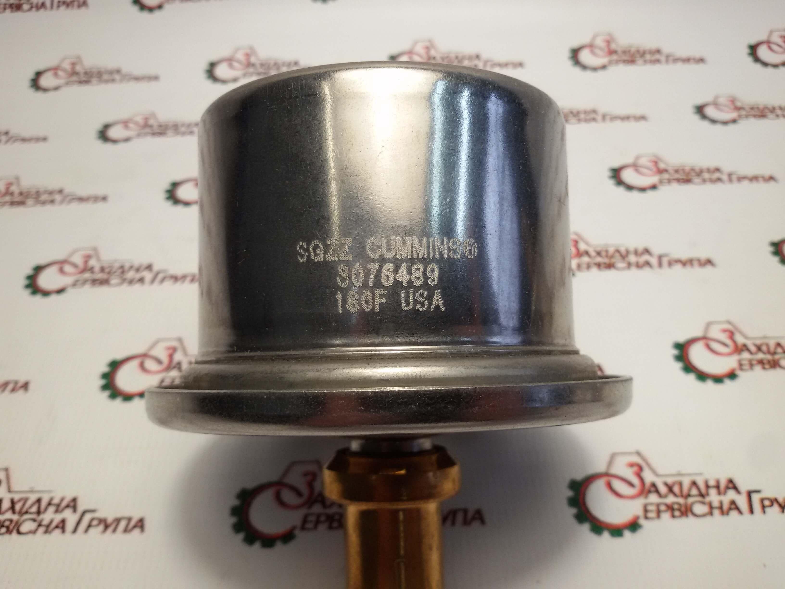 Термостат системы охлаждения двигателя Cummins KTA19, 3076489, 201737, 146077.