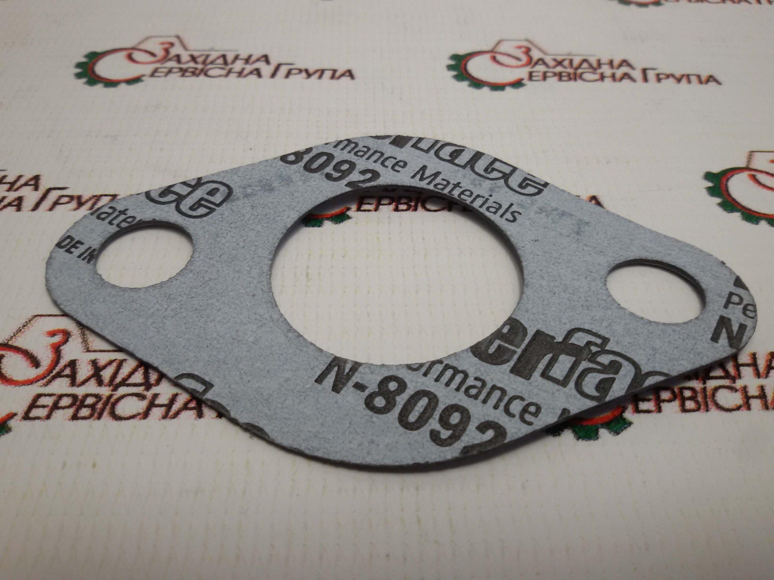 Прокладка сердечника маслоохладителя Cummins KTA19, 206973, 3085998.