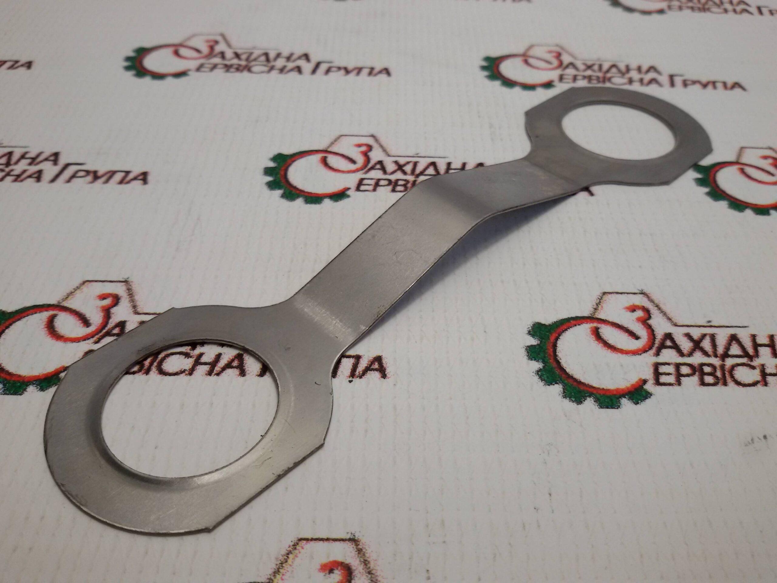 Стопорна пластина болтів випускного колектора Cummins KTA19, 3088317.
