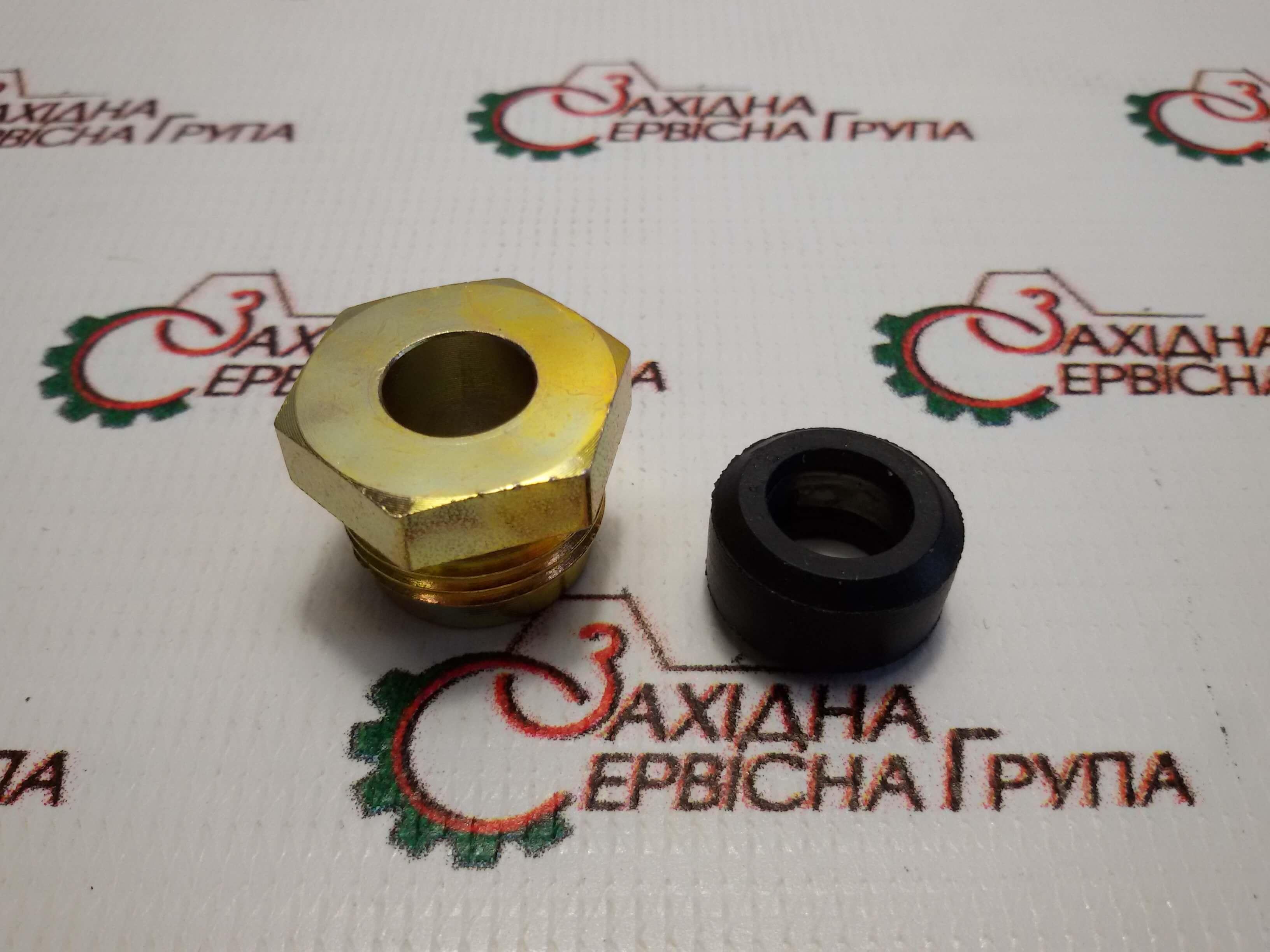 Соединитель трубки подачи топлива к рейке Cummins KTA19, 3031404, 206056.