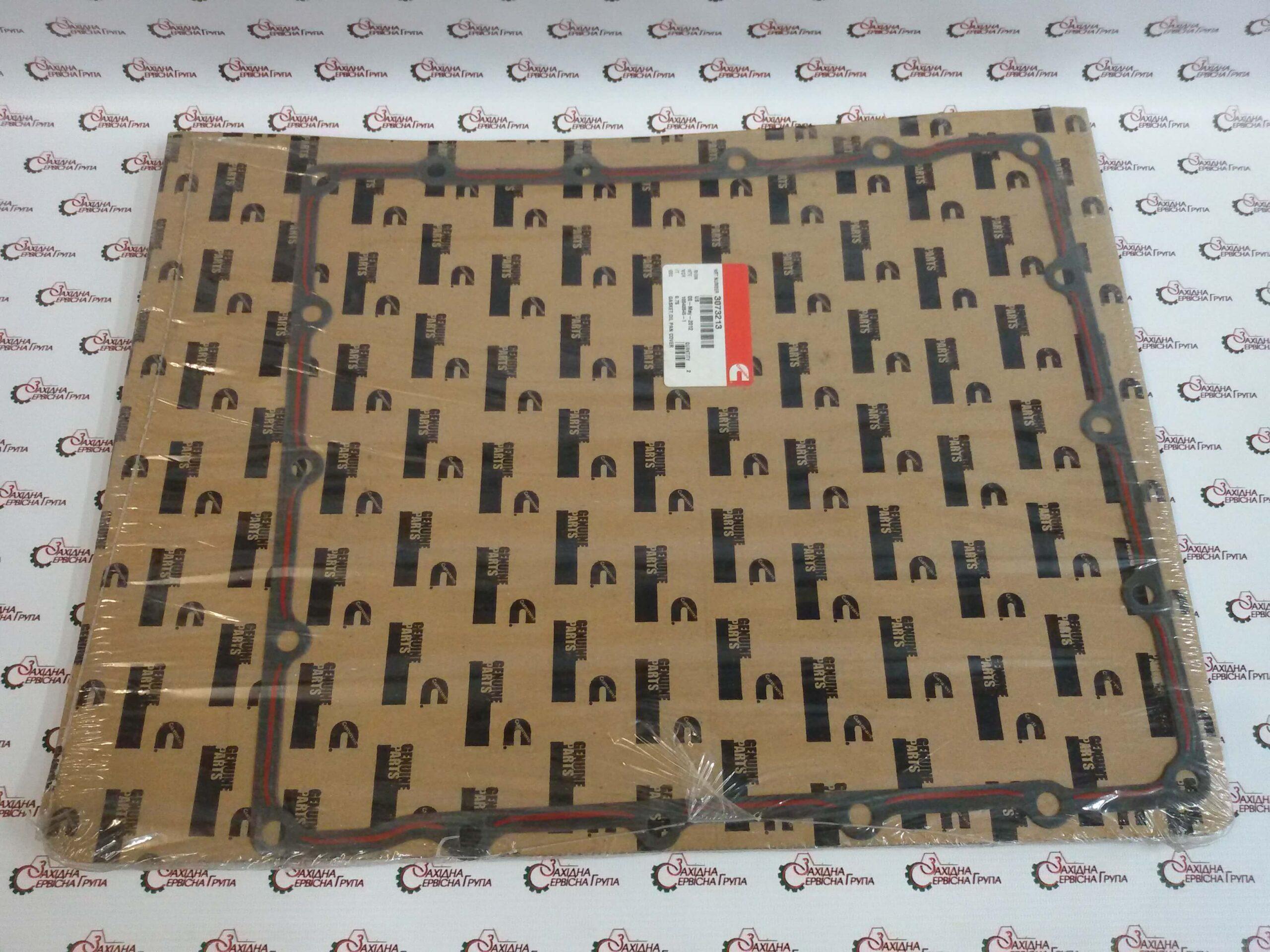 Прокладка переходника поддона масляного Cummins KTA19, 3073213, 3202259, 3042589.