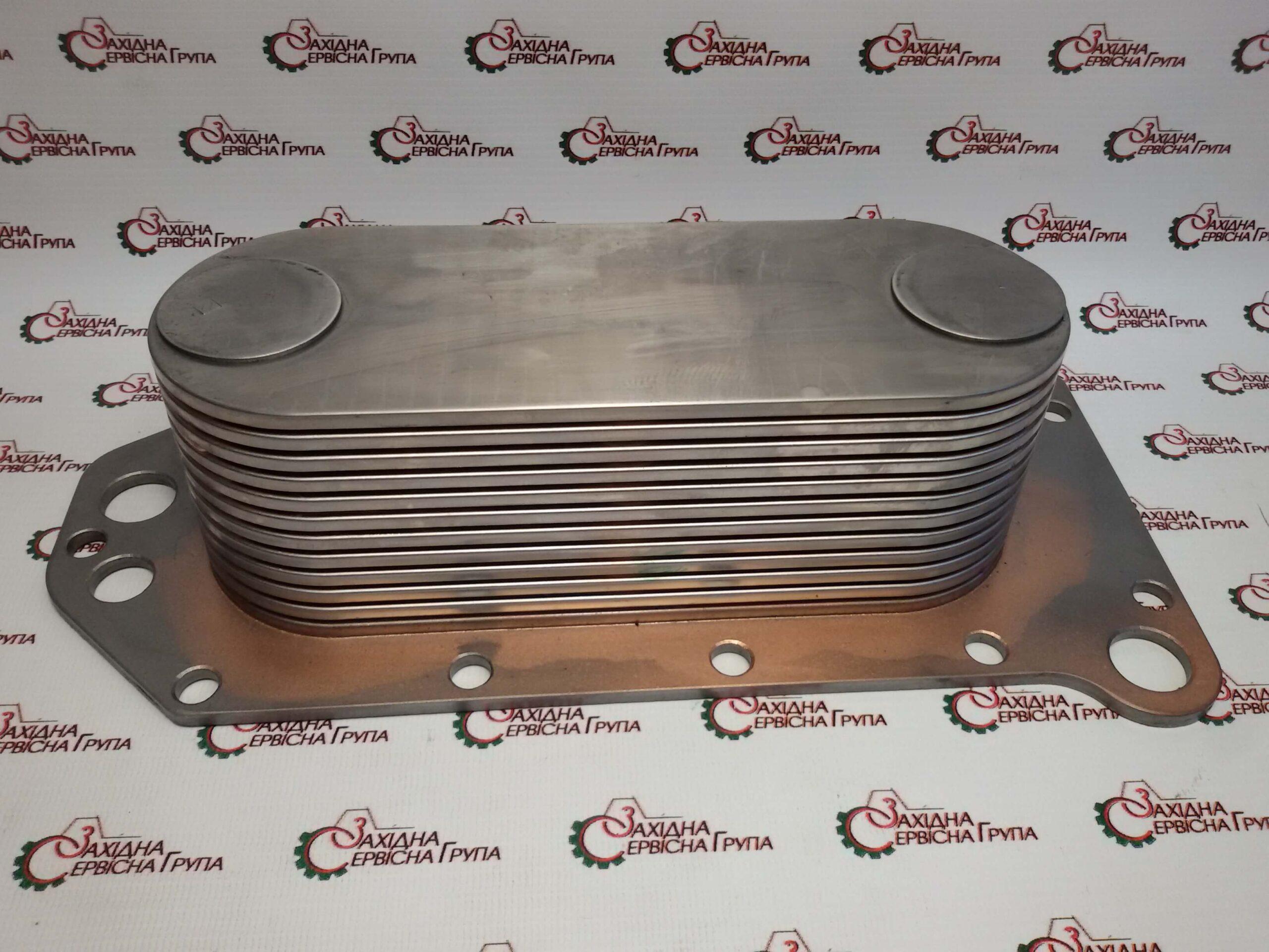 Теплообмінник двигуна Cummins 6CT 8.3, ISC, QSC, ISL, QSL9, 3974815, 3918175, 3906296.