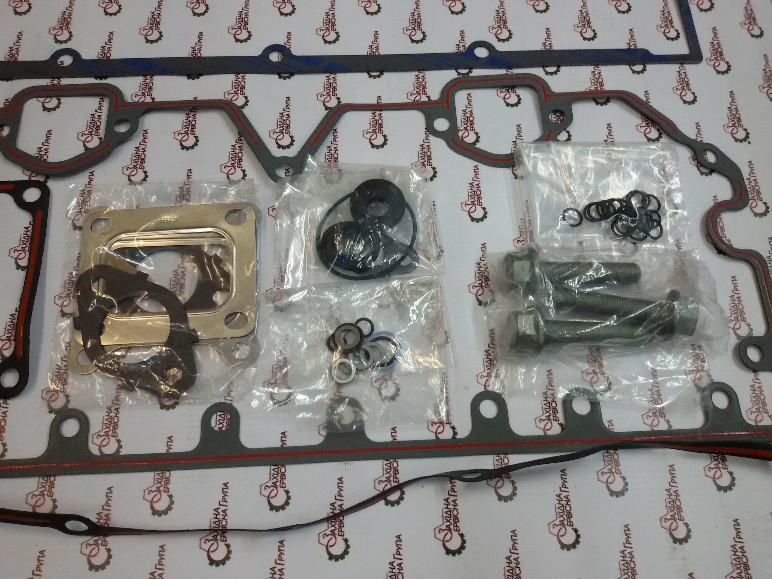 Комплект прокладок верхній Cummins M11, ISM11, QSM11, 4089478, 4025157, 4024993, 3803293.