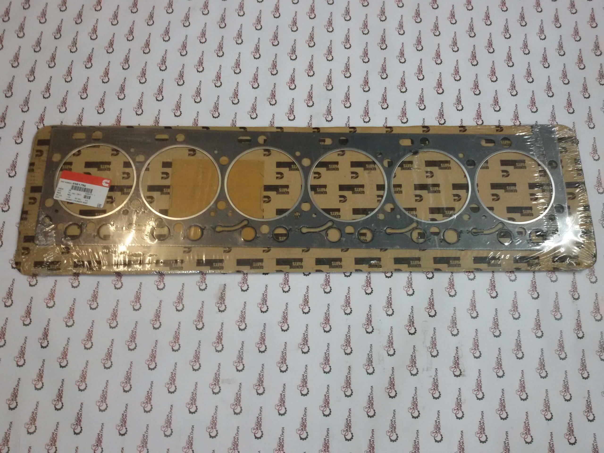 Прокладка ГБЦ двигателя Cummins ISC, ISL, QSL9, 4981796, 5529515, 3967059, 4937728.