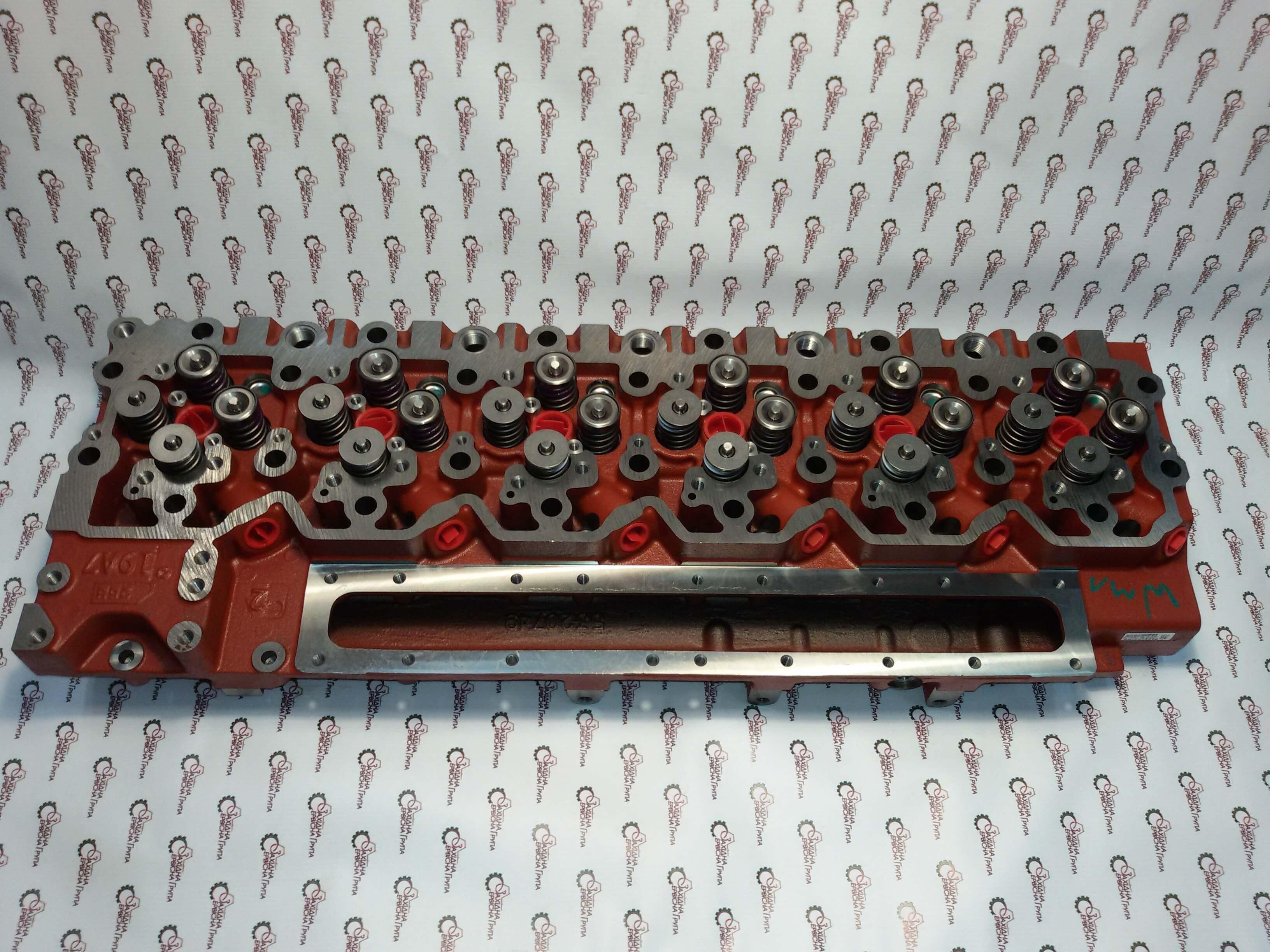 Головка блоку циліндрів двигуна Cummins QSC-8.3, QSL9, 5404060, 5529522, 5348479, 5259423, 4987975, 4942123, 3973632, 4928931.