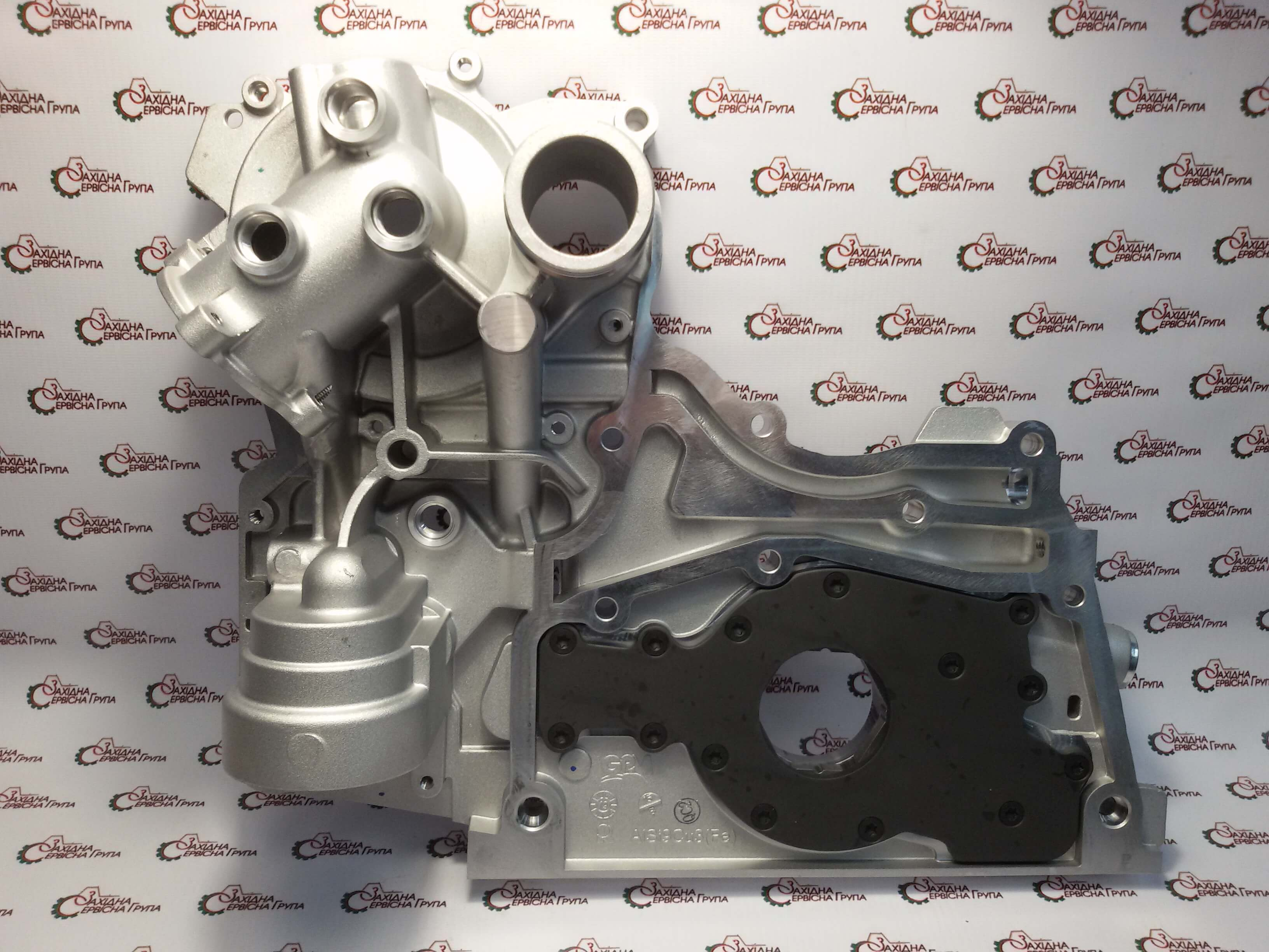 Кришка двигуна передня / насос масляний Cummins ISF 2.8, 5475199, 5302888, 5302887, 5274914, 5269789.