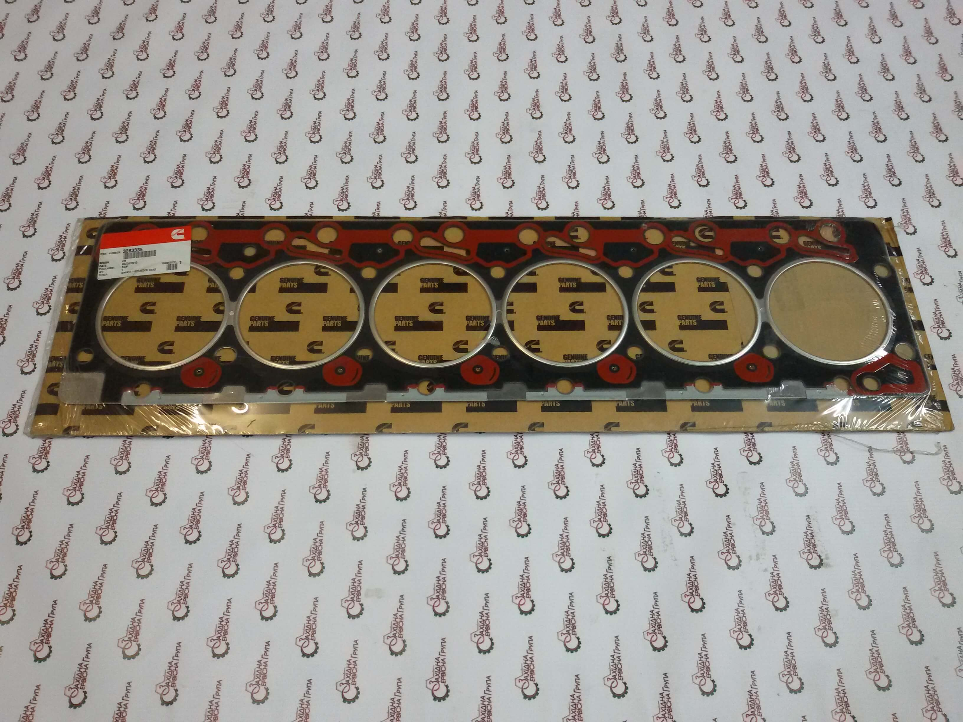 Прокладка головки блока цилиндров Cummins 6BT 5.9, 3283335, 3283192, 3283570, 3282805, 3921394, 3908997, 3907057.