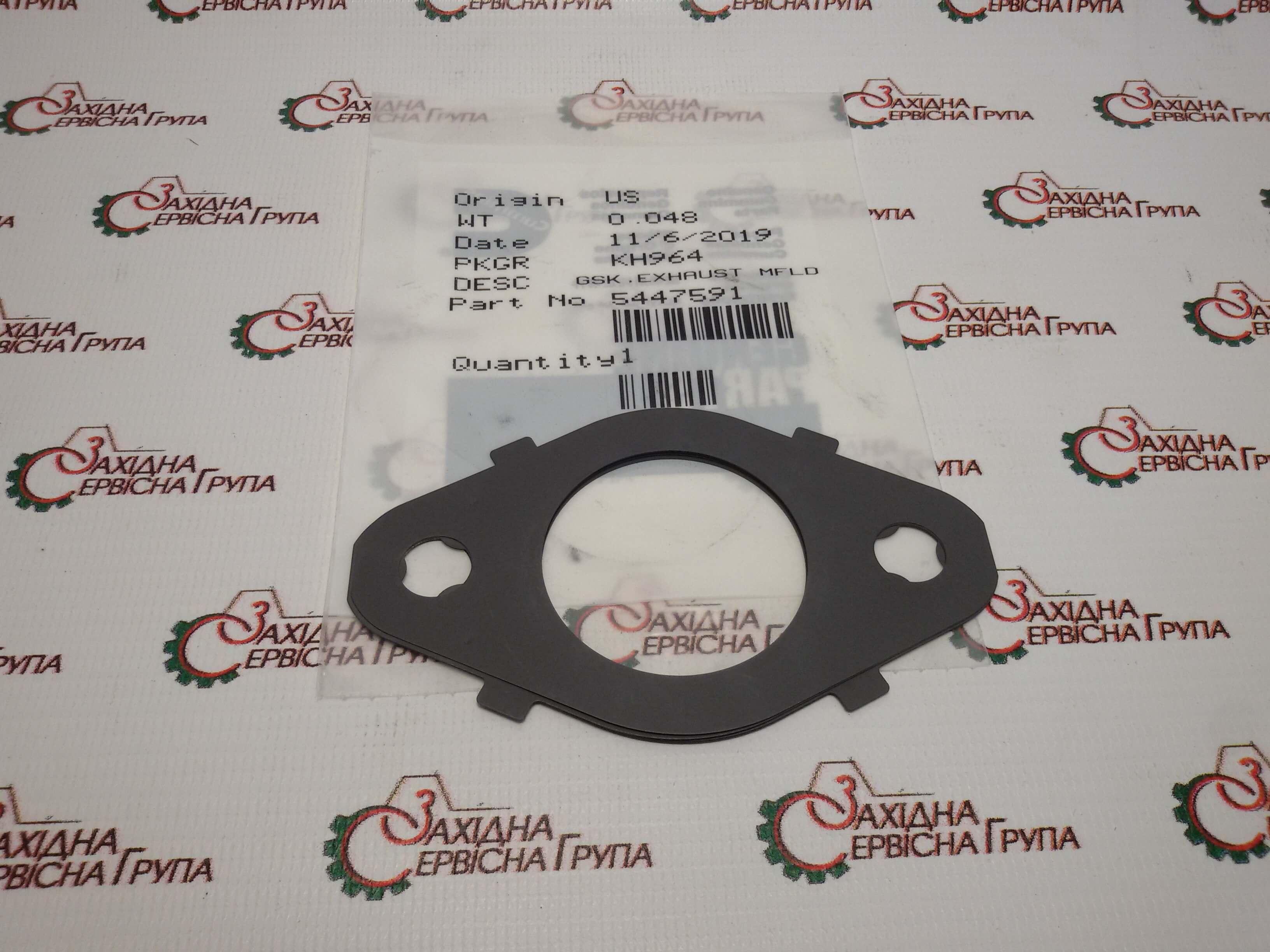 Прокладка выпускного коллектора Cummins QSB5.9, ISB, QSB 6.7, 5447591, 5266422, 3955339.