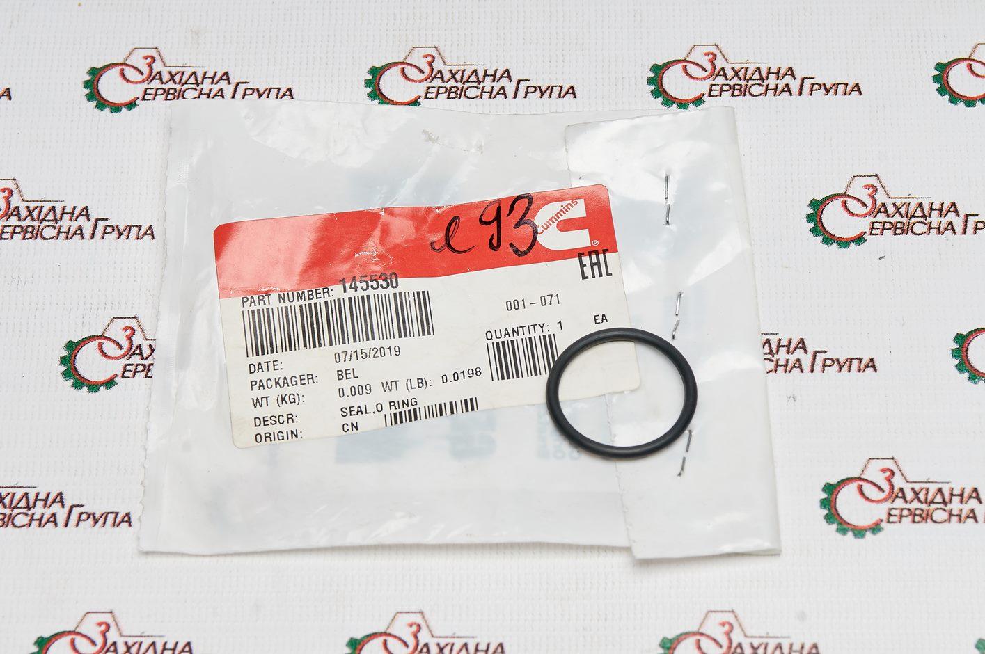 Кольцо сапуна Cummins QSB6.7, ISB, ISD, 145530