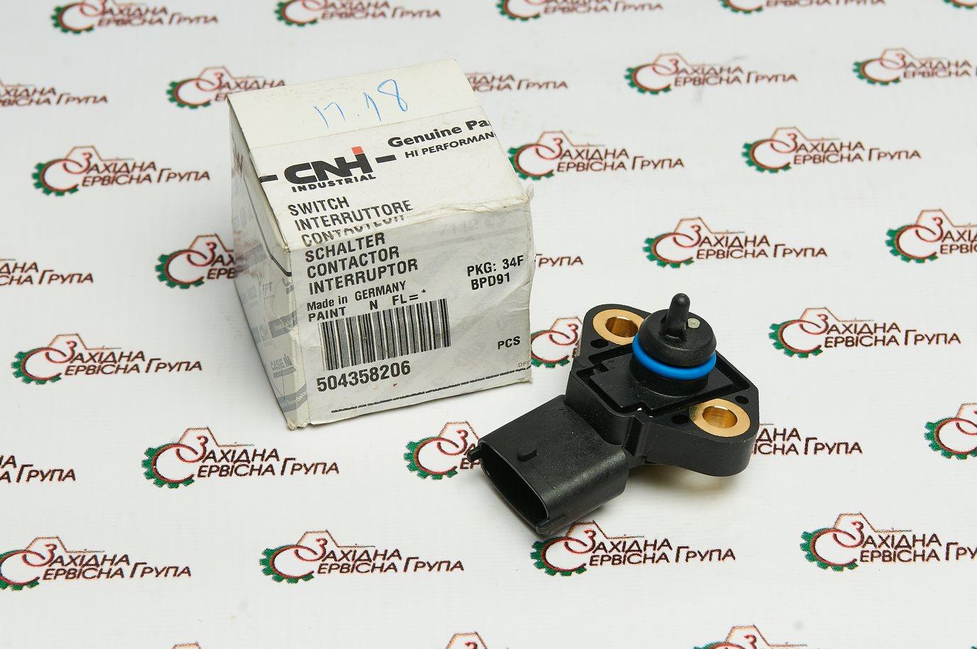 Датчик тиску/температури масла IVECO/FPT Cursor 9, 504358206, 2859674, 4890193