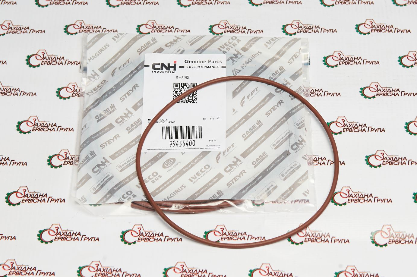 Кільце ущільнююче гільзи циліндра IVECO/FPT Cursor 13, 99455400